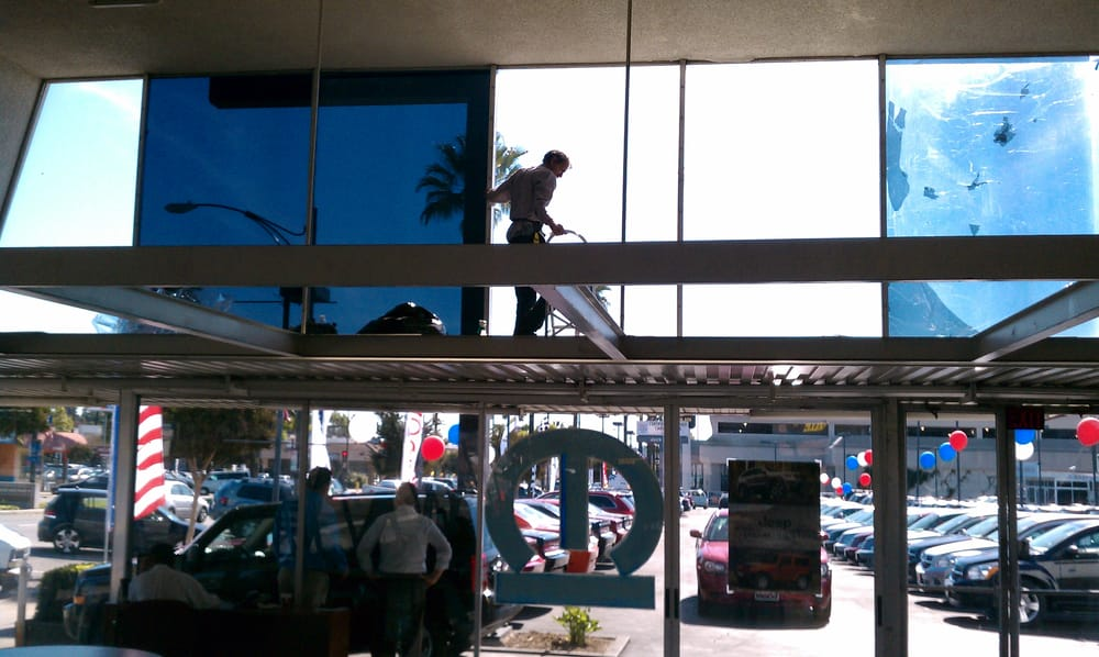 business storefront window tinting for commercial buildings.