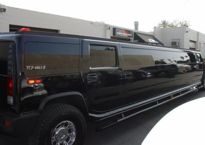 Automotive Limo window tinting Shop