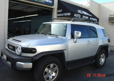Automotive Window Tinting Shop